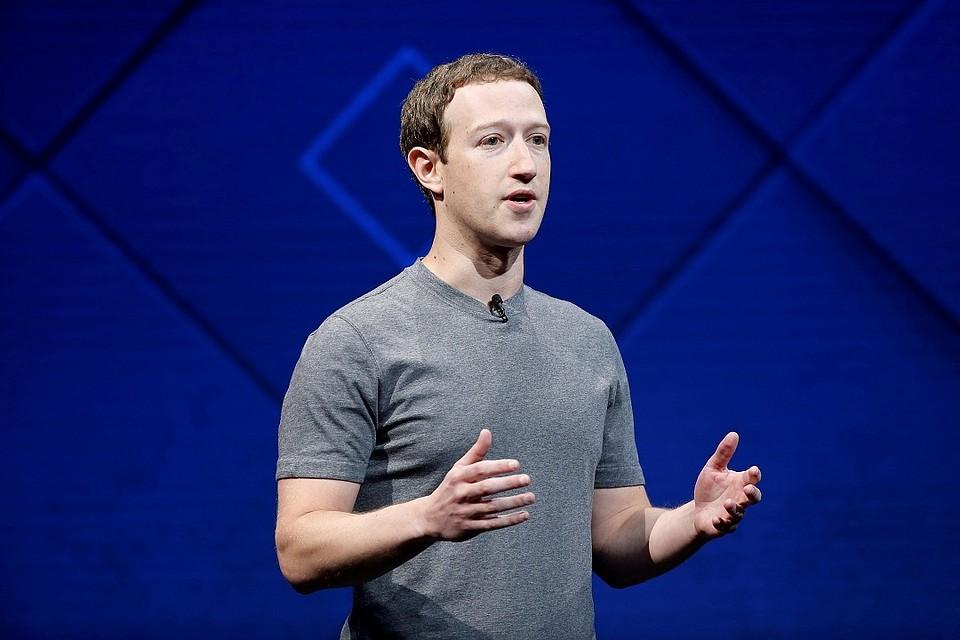 Цукерберг извинился закрупную утечку данных пользователей фейсбук