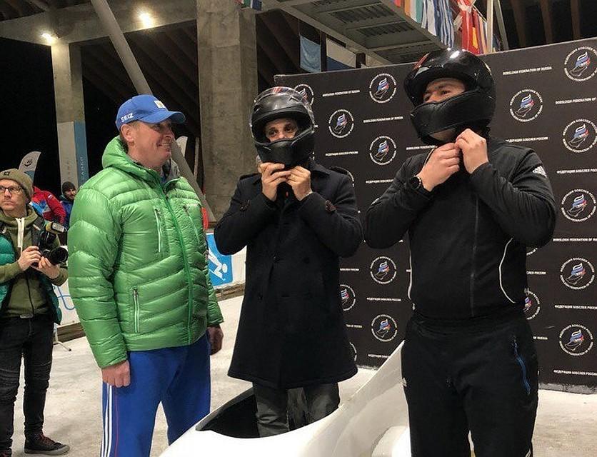 Нуну Гомеш посетил стадион Фишт вСочи