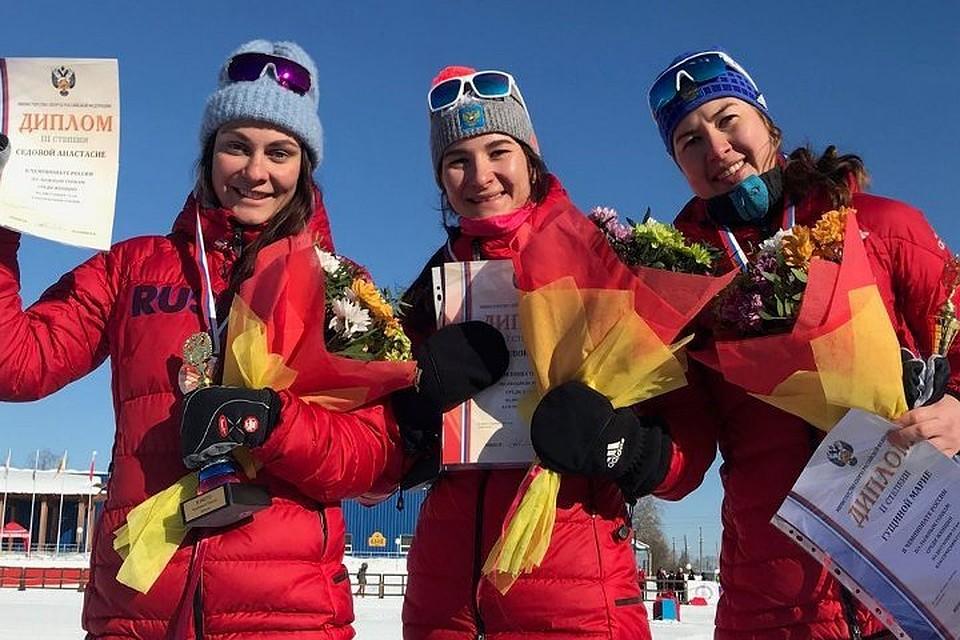 Царева иБелорукова стали чемпионами Российской Федерации вкомандном спринте