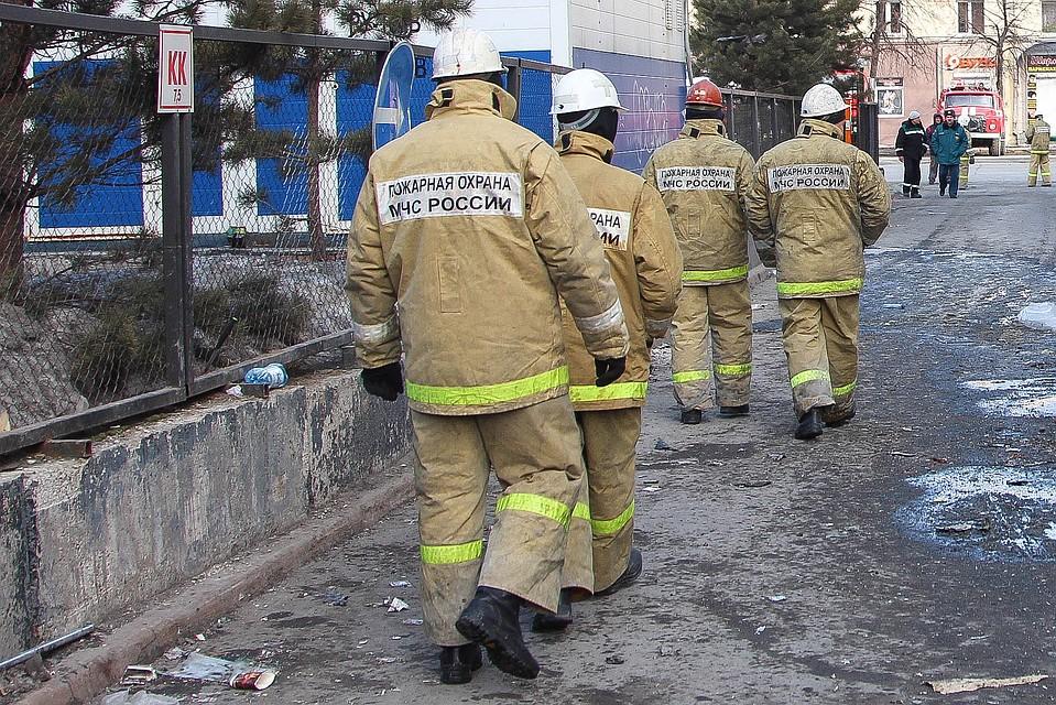 Насевере столицы 220 человек эвакуировали изгорящего общежития