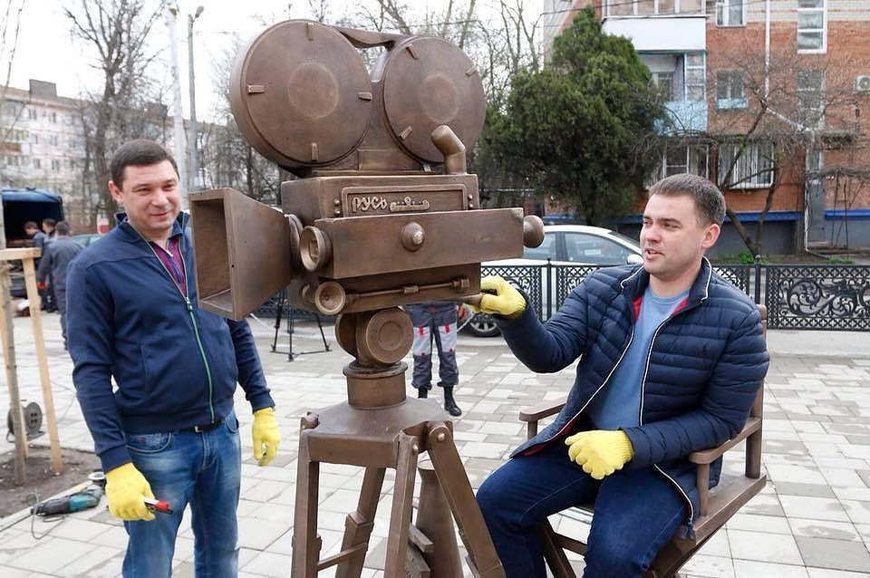 «Кино»: вКраснодаре появился новый арт-объект
