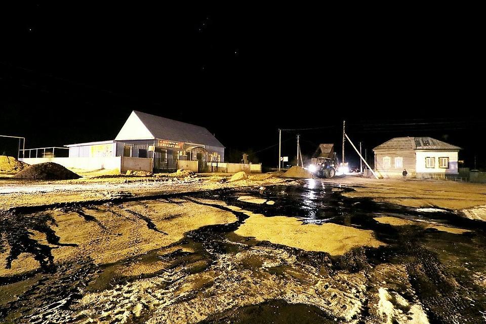 ВБалаковском районе произошла авария намагистральном нефтепроводе