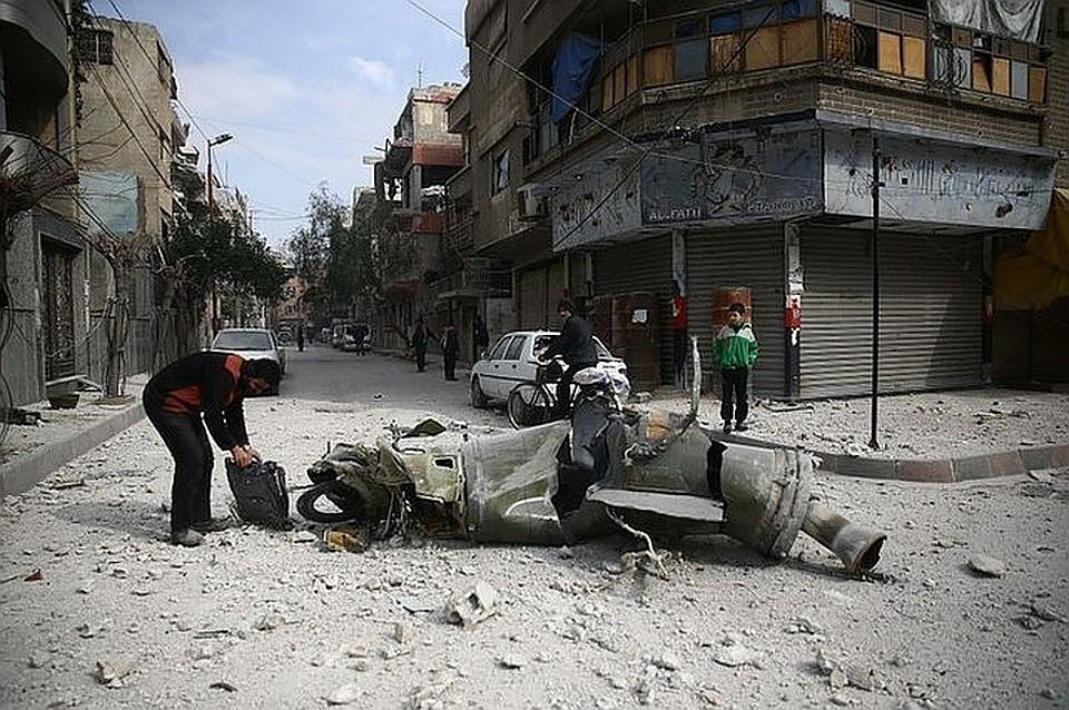 США вместе с Великобританией иФранцией начали операцию против Сирии