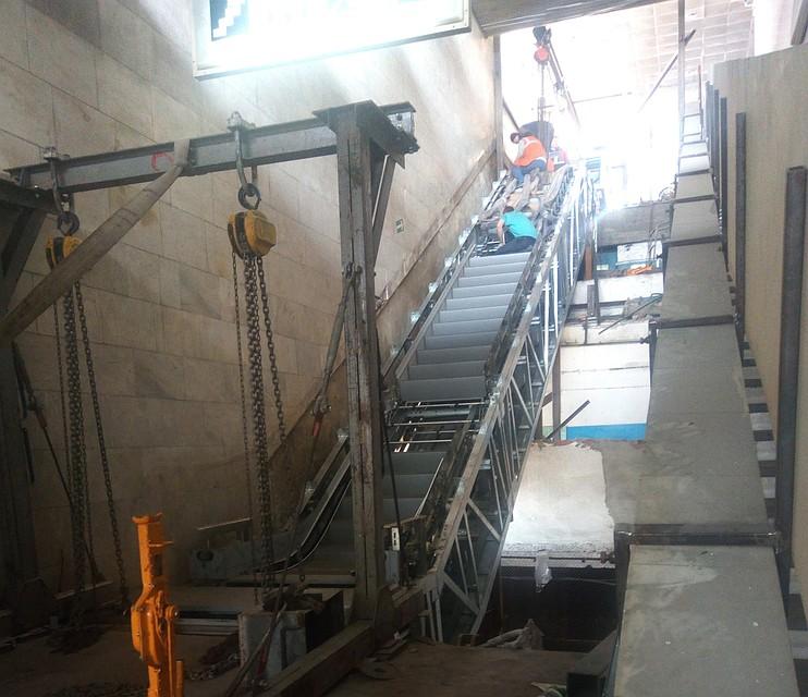 НастанцииСТ «Пионерская» вВолгограде установят тихие эскалаторы