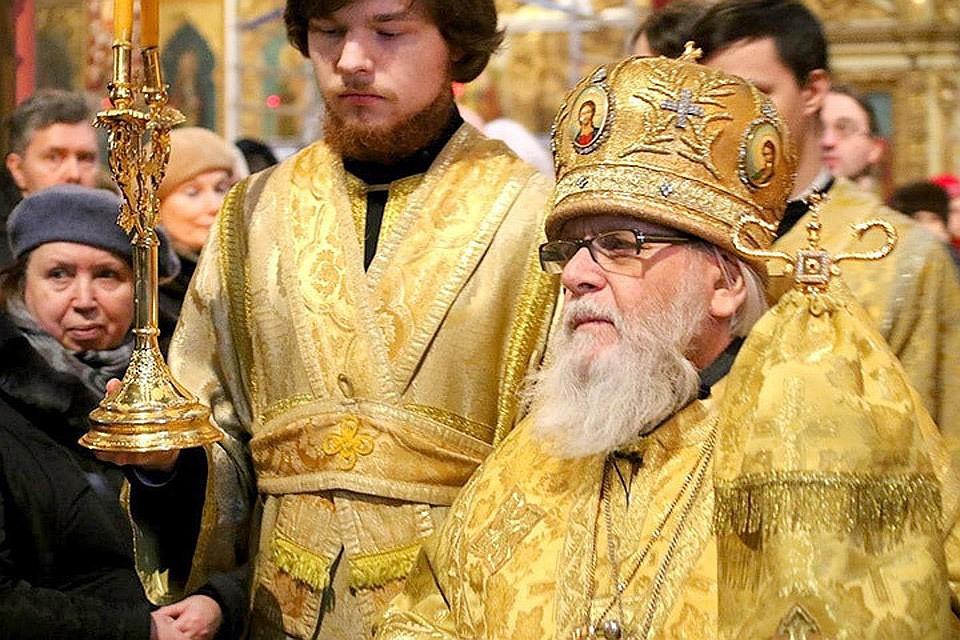 ВТаллине умер глава Эстонской православной церкви (МП)