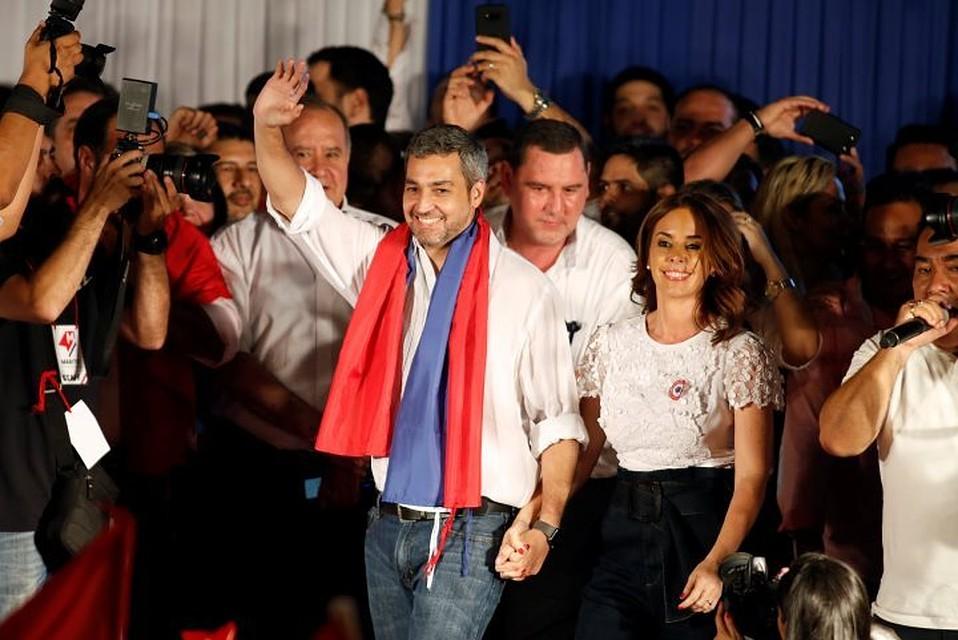Навыборах президента вПарагвае выигрывает кандидат отправящей партии