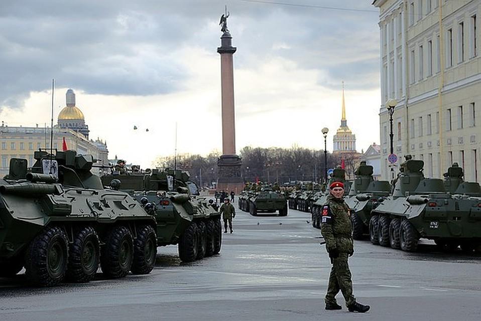Исторический танк ИС-3 впервый раз примет участие впараде наДворцовой