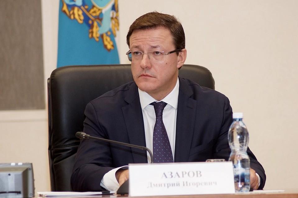 Врио руководителя Самарской области Азаров объявил обучастии ввыборах губернатора