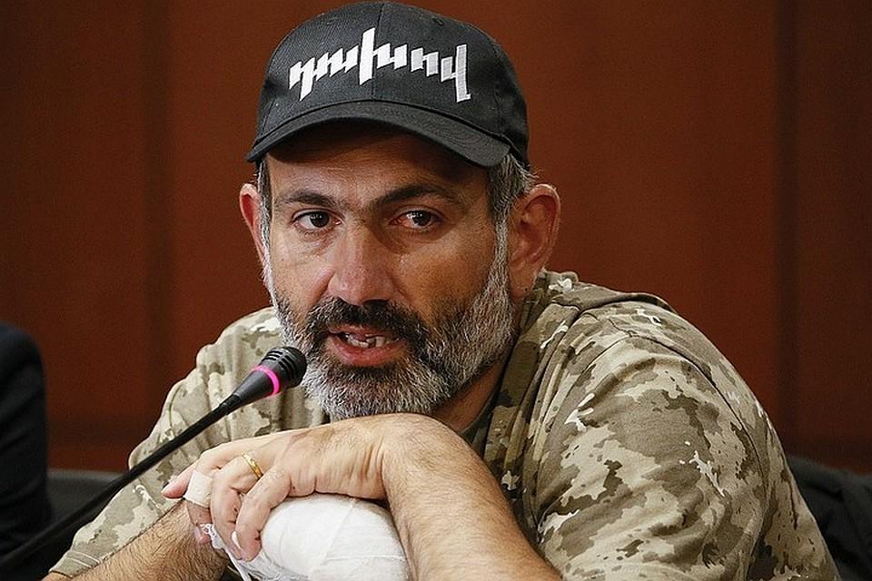 Парламент Армении проголосовал против избрания Пашиняна премьером