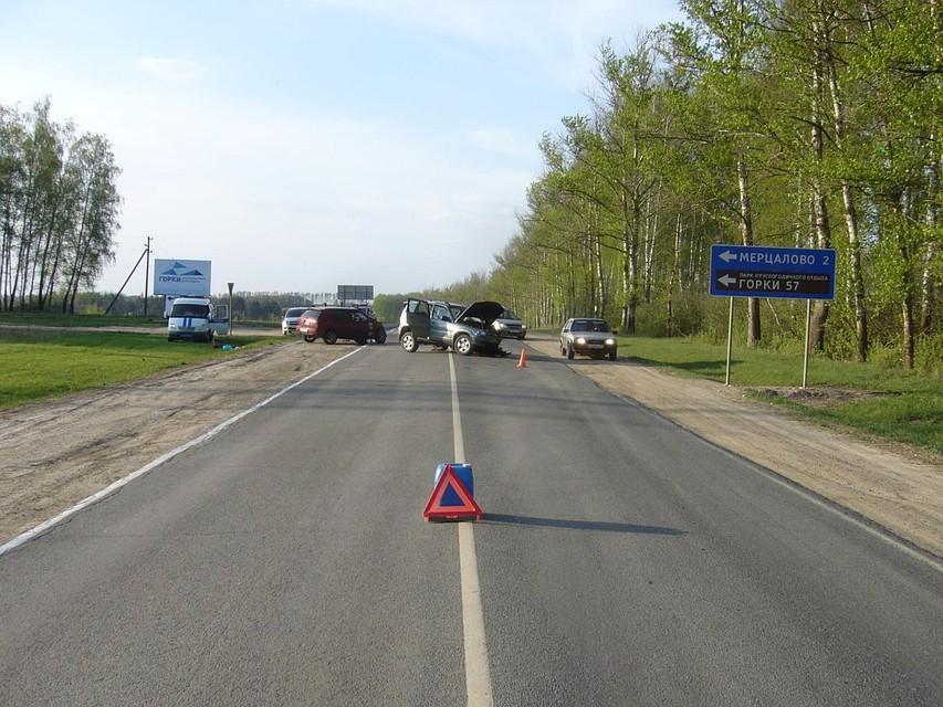 Намаялись: задва дня на трассах Калужской области зафиксировано свыше 80 ДТП