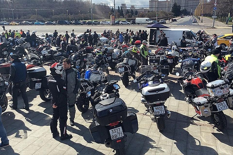 В Москве прошел ежегодный мотопарад