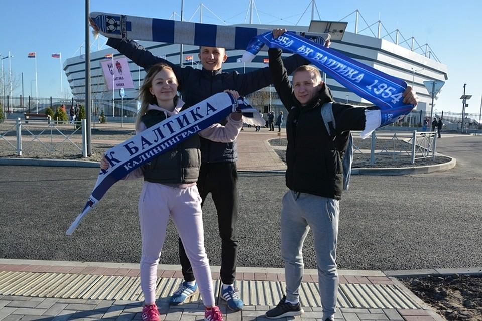 «Балтика» крупно одолела вофициальном матче открытия стадиона «Калининград»