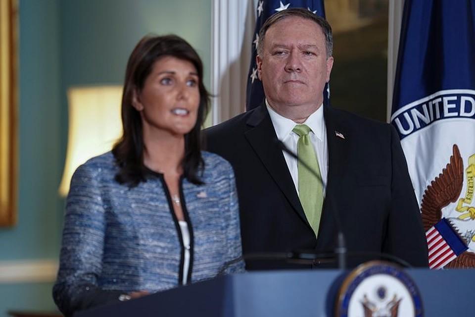 США планируют выйти изСовета ООН поправам человека