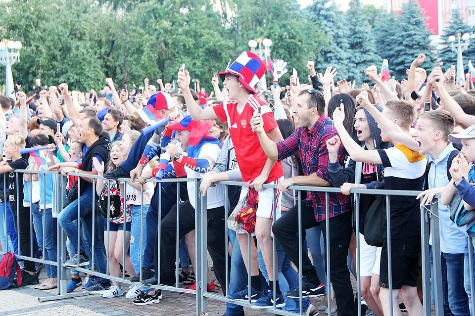 7июля брянцы смогут поболеть засборную Российской Федерации наплощади Партизан