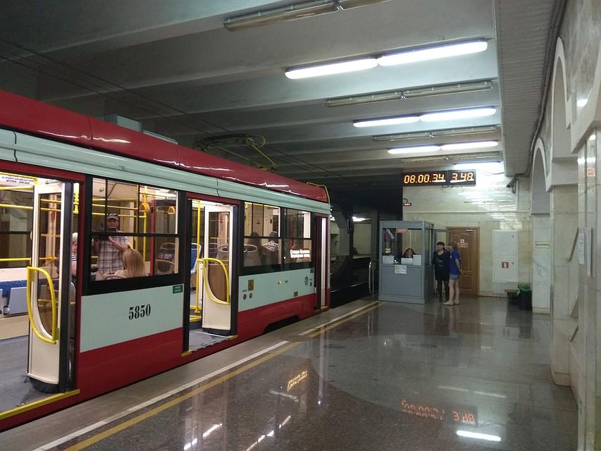Трамваи СТ-2 доставят волгоградцев доТракторозаводского района