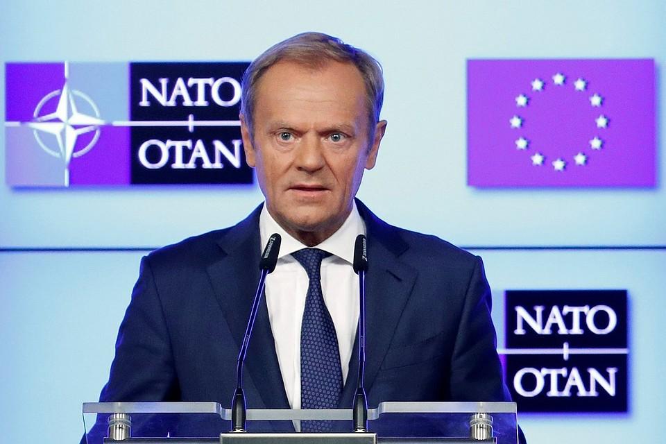 Туск ответил наслова Трампа овоенных расходах ЕС— Лучший союзник США
