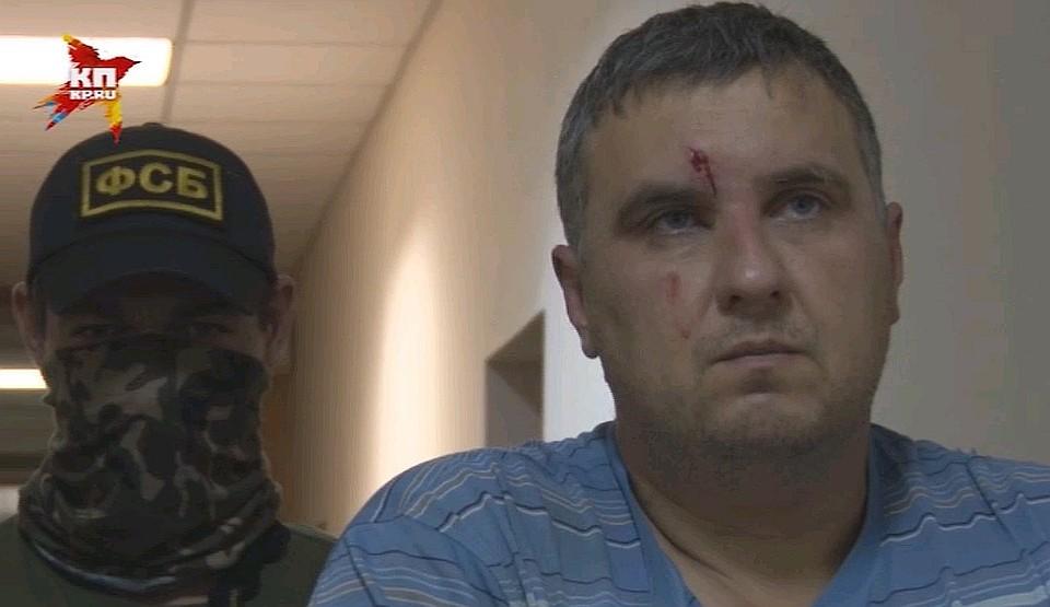 Украинца Панова приговорили вКрыму к8 годам колонии заподготовку диверсий