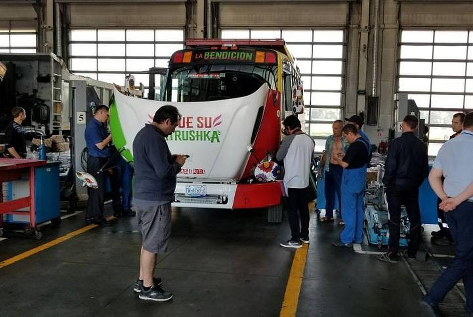 Автобус мексиканцев скартонным фанатом попал в трагедию вПетербурге