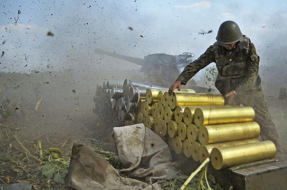 ВСУ два раза обстреляли ЛНР заминувшие сутки