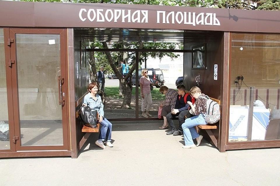 Вандалы раскурочили новый остановочный павильон вРыбинске