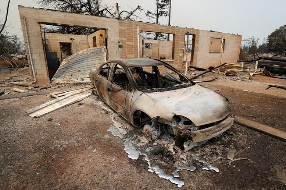Около 37 тыс. граждан Калифорнии эвакуированы из-за природных пожаров