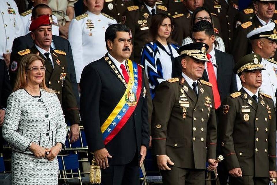 Поделу опокушении наМадуро арестованы высокопоставленные военные