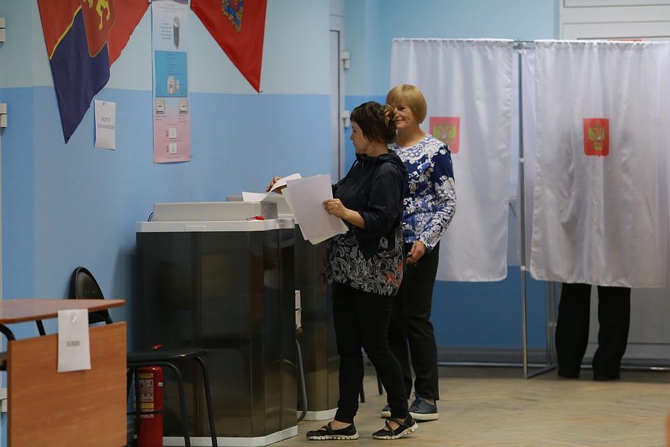 Явка навыборах вКрасноярском крае пока ниже, чем впрошлые разы