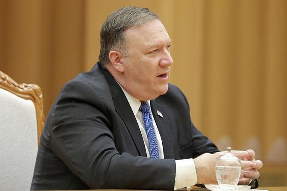 РФработает против интересов США вУкраинском государстве  иСирии,— Госсекретарь США