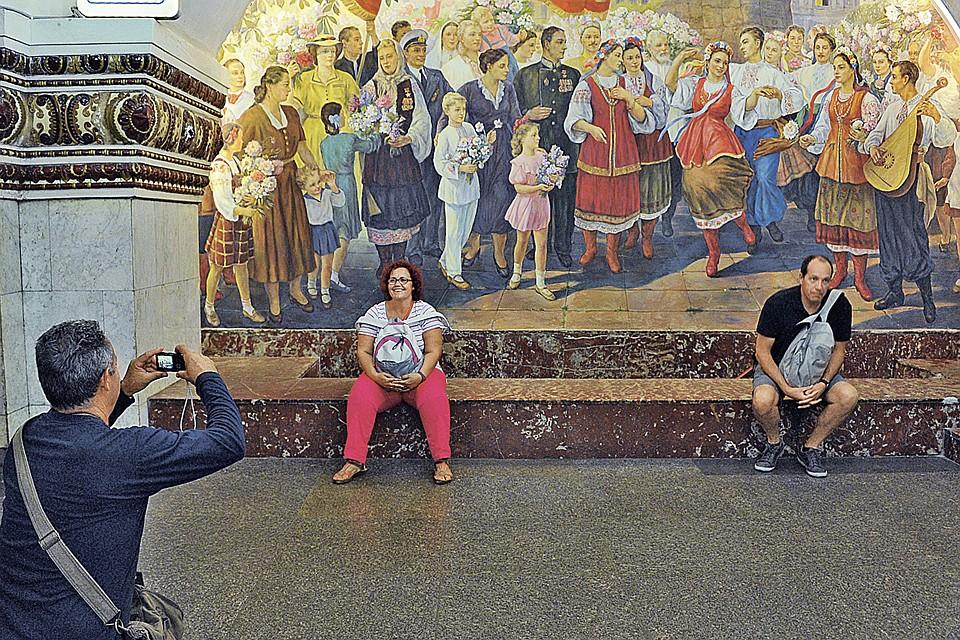 Похоже дружбу двух братских народов скоро можно будет увидеть разве что на станции метро Киевская в Москве