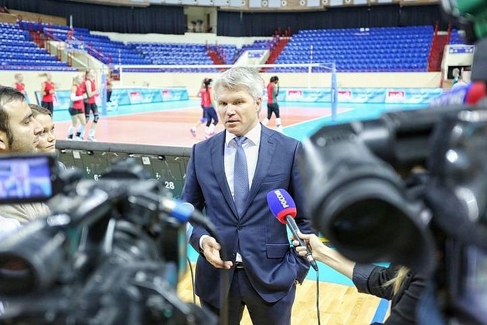 Руководитель МинспортаРФ завтра посетит Казань