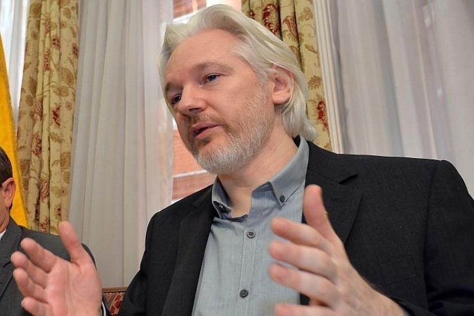 Основатель портала Wiki Leaks Джулиан Ассанж