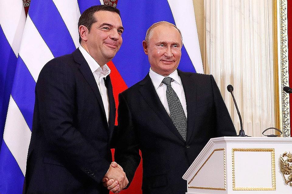 Отрынка нефти доинноваций: Путин обозначил вероятные общие проекты сГрецией