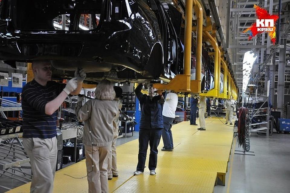 Петербургские автозаводы выпустили 344 тысячи машин загод