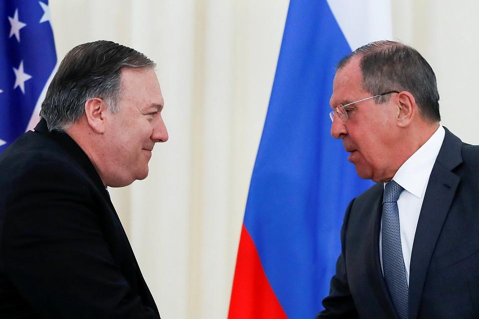 Лавров встретится вСША сПомпео после нормандского саммита— МИД Российской Федерации