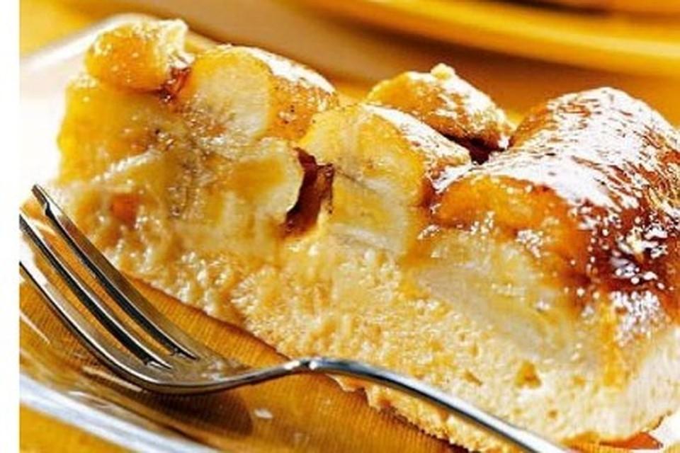 Пирог с бананом на сметане рецепт с