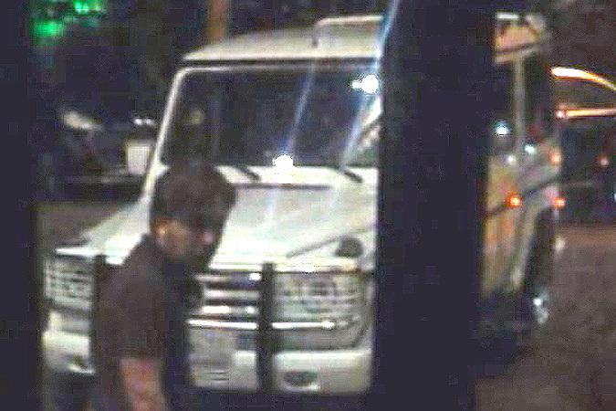 Предполагаемого преступника зафиксировали камеры наблюдения