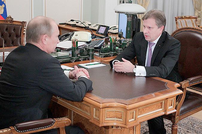 Путин и Савельев