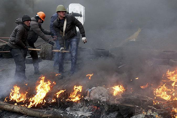 События 18 февраля - это начало гражданской войны на Украине