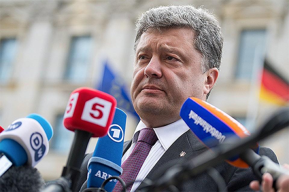 Миллиардер Петр Порошенко, побеждающий, по предварительным данным, на выборах президента Украины