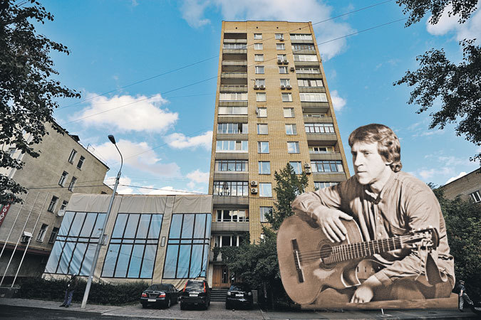 Трехкомнатную квартиру на Малой Грузинской наследники Владимира Высоцкого сдали два года назад.