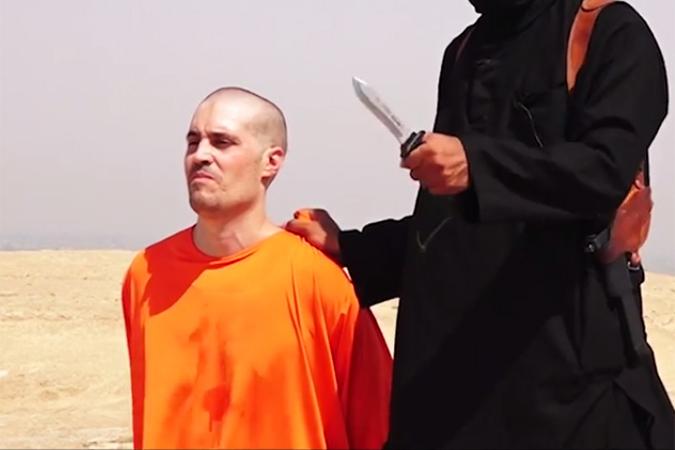 Казненный американский журналист Джеймс Фоули Фото: кадр с видео
