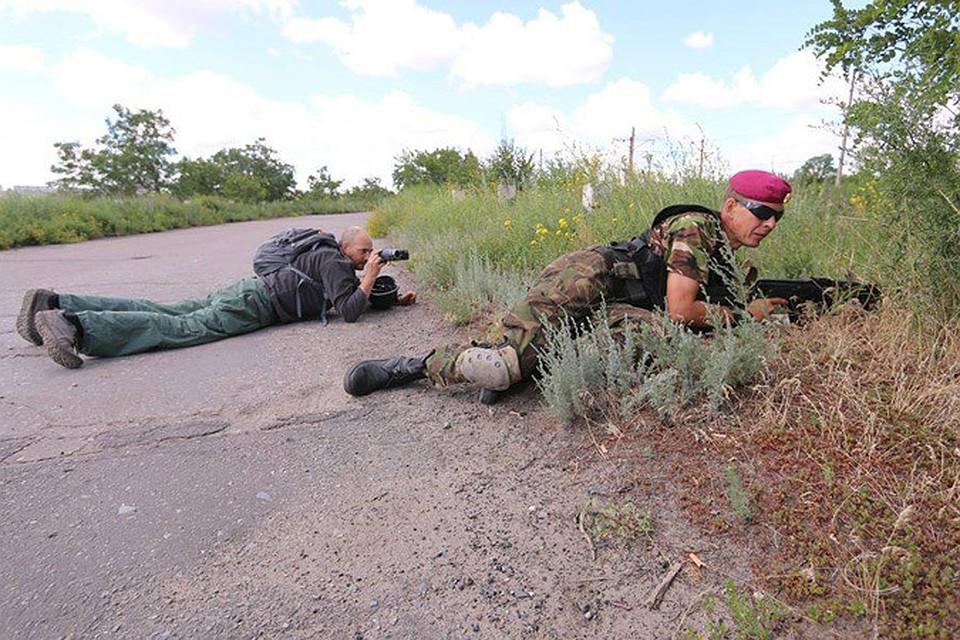 Наши спецкоры каждый день рисковали жизнью на Украине. Сотрудники миссии ОБСЕ не захотели