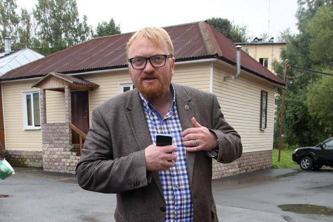 Виталий Милонов iPhone использует только для не служебных разговоров