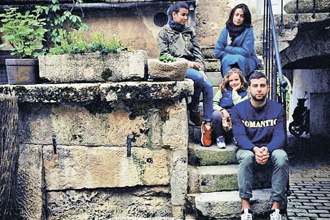 Иван с женой и двумя дочерьми лето провел в путешествиях. </br>Фото: семейный архив.