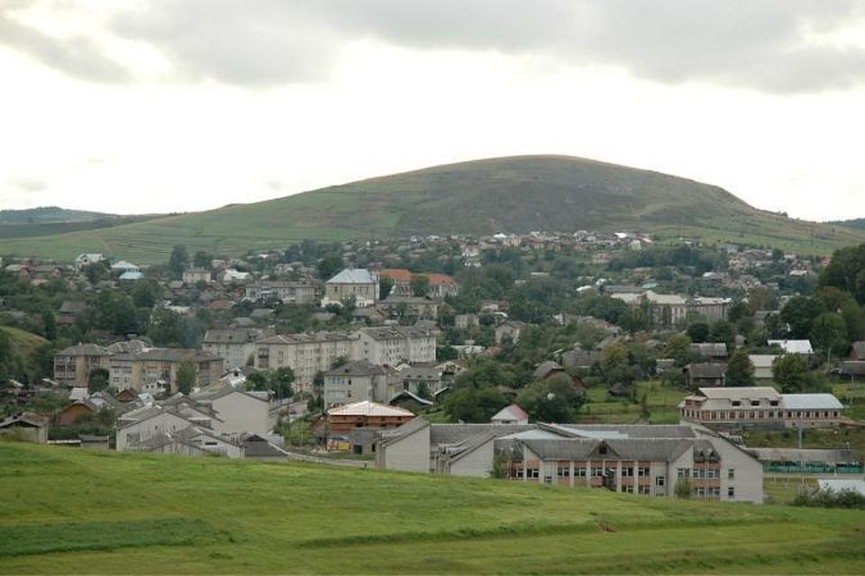 Город Турка во Львовской области Украины. Wikipedia