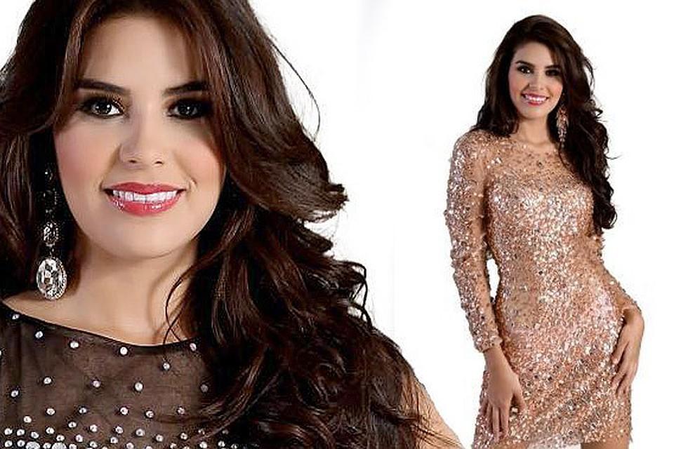 Мария Хосе Альварадо Мунос, совсем недавно завоевавшая титул «Мисс Гондурас», до сих пор не найдена. ФОТО: MISSWORLD.com