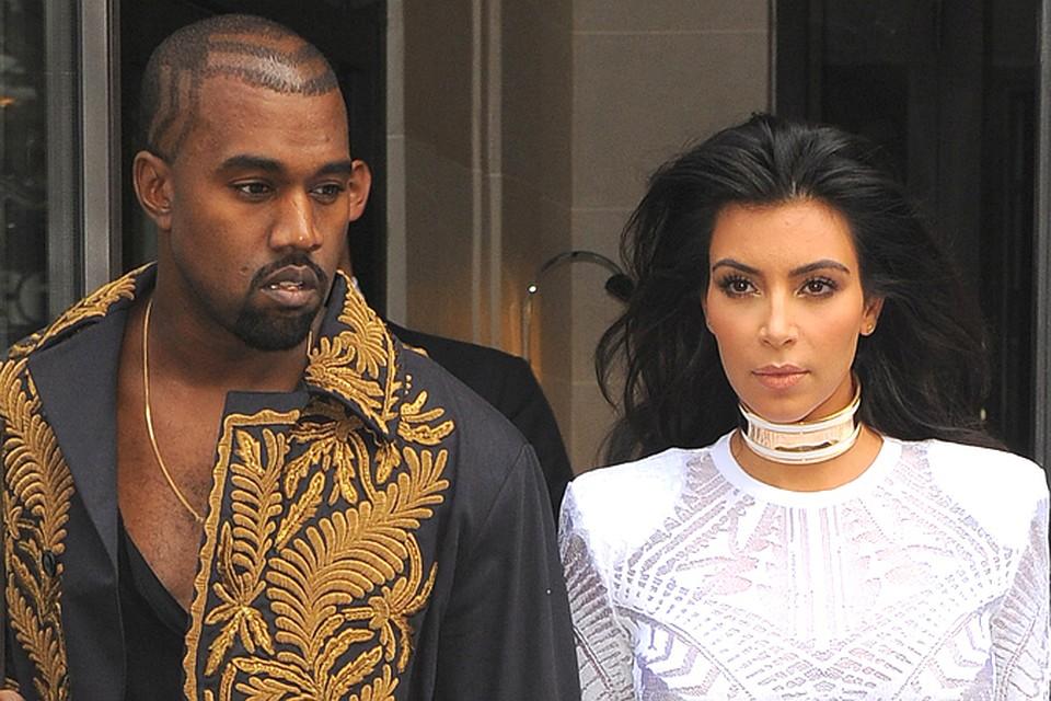 Ким Кардашьян и Канье Уэст на грани развода.