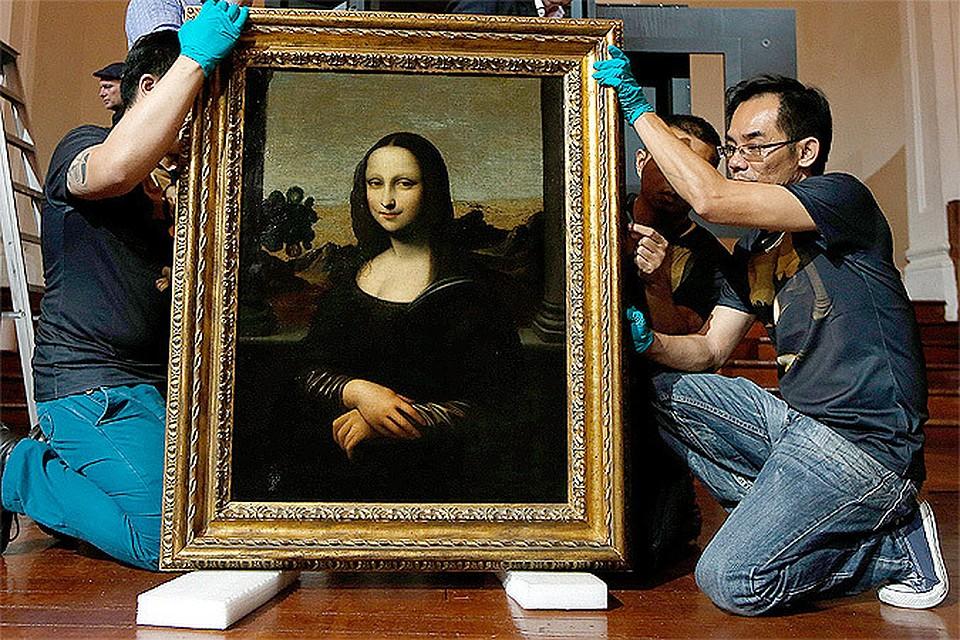 Мона лиза сколько лет рисовал всю картину