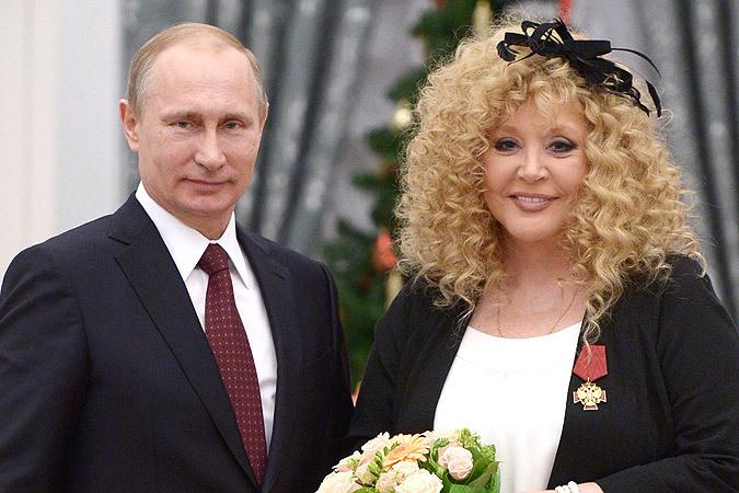 Алла Пугачева — Владимиру Путину: Если бы была такая песня, чтобы от нее настал мир во всем мире, я бы ее спела
