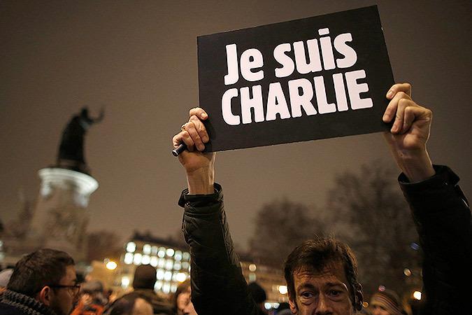 После теракта в Париже сто тысяч французов вышли на траурные митинги